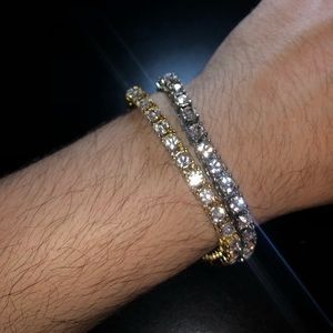 Other - 5mm round cut CZ tennis bracelets